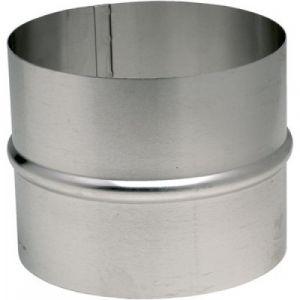 Ten raccord en aluminium pour gaine accordéon diamètre intérieur 125mm 454125