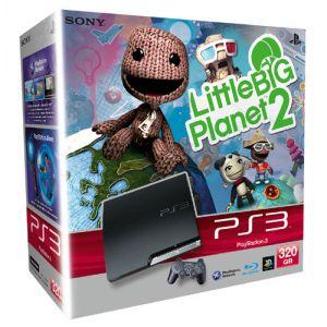 Sony PS3 Slim 320 Go + LittleBigPlanet 2