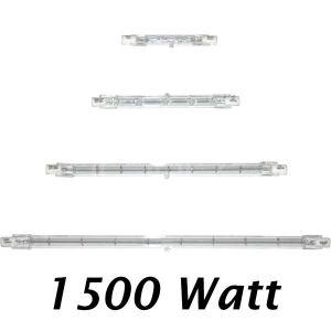 Kanlux Tube halogène 1 500 W R7s de 254 mm de long