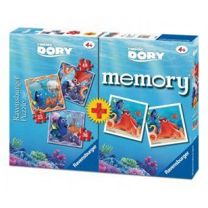 Ravensburger 3 puzzles et memory Le Monde de Dory