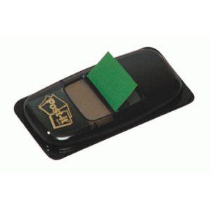Post-It I680-3 - Carte 50 repères adhésifs Index, 25,4x43,2mm, vert