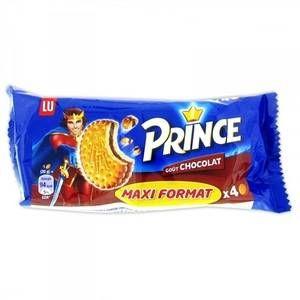 Lu Biscuit Prince fourré chocolat x 4 - Format pocket 80 g - Lot de 20