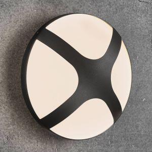 Nordlux Applique Plafonnier extérieur Cross 26cm E27 IP54 Noir