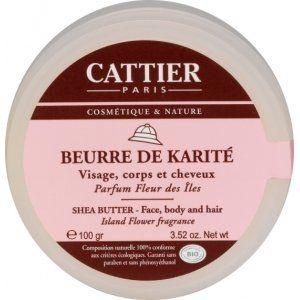 Cattier Beurre de karité parfum fleurs des îles