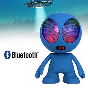 LTC Audio Enceinte nomade Bluetooth Extra-terrestre LEDs lumineuse