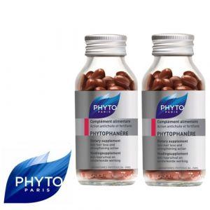 Phyto Paris Phytophanère pour Cheveux et Ongles (Lot de 2 x 120 capsules)