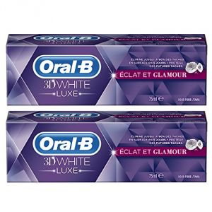 Oral-B 3D White Luxe - Dentifrice Eclat et Glamour (75 ml)