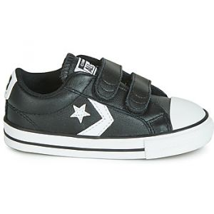 Converse Chaussures enfant STAR PLAYER EV 2V LEATHER OX Noir - Taille 20,21,22,23,24,25,26