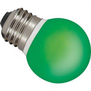 Sylvania Ampoule LED unicolore E27 26886 0.5 W vert forme sphérique 1 pc(s)