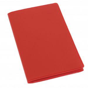 Habill-auto Etui PVC gomme pour carte grise (133x264 mm) rouge
