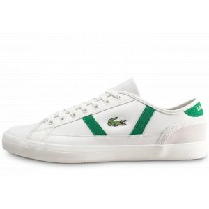 7b56f7d7bf64 Chaussures lacoste homme blanche - Comparer 96 offres