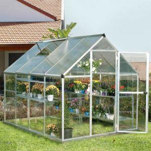 Chalet et Jardin Gaya - Serre de jardin en polycarbonate 8 m²