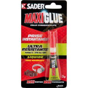 Sader Colle maxiglue cyano liquide 3g