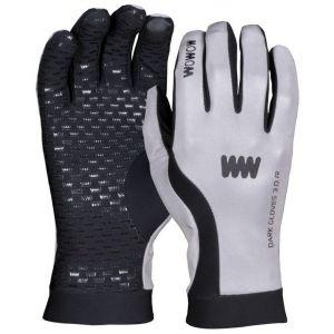 Wowow Dark 3.0 - Gants - réfléchissant gris/noir M Gants VTT