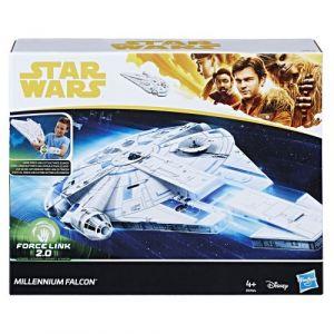 Hasbro Véhicule et Figurine - Star Wars Han Solo - Faucon Millenium