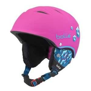 Bollé Casque De Ski/Snow B-Free Soft Neon Pink Blocks 49-53 49/53