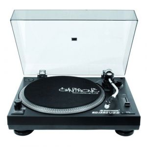 Omnitronic 057297 BD-1390 Platine USB Noir