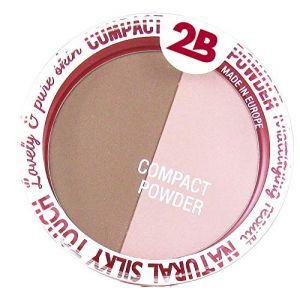2B Powder glow duo bronzing & highlighting 01 rose