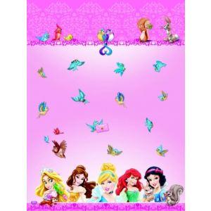Nappe en plastique Princesses Disney
