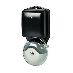 Scs sentinel Carillon filaire RetroBell - Design industriel - 2 fils - 1 sonnerie - Sonnerie 80 dB - Transformateur déporté.