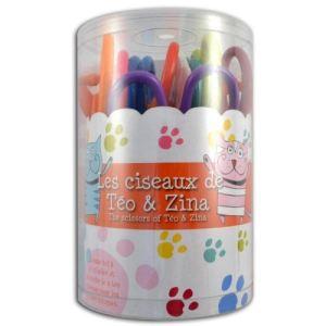 Teo & Zina Boîte à 8 ciseaux cranteurs