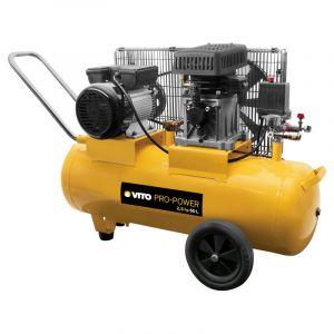 Vito Pro-Power Compresseur à courroie 2.5 CV / 50 L VITOPOWER 1850 W 230V AC Pression 8 Bar MAX