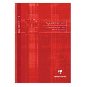 Clairefontaine Agenda cahier de bord pour enseignants 144 pages (A4)