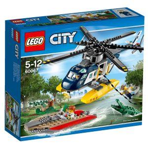 Lego 60067 - City : La poursuite en hélicoptère