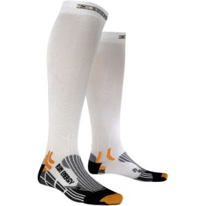 X-Socks Run Energizer - Chaussettes - Homme - Blanc - Taille:45-47