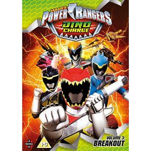 Power Rangers Dino Charge: Volume 3 - Breakout [Edizione: Regno Unito] [Import italien]