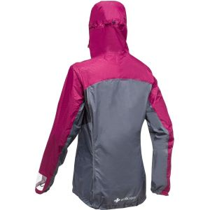 Raidlight Veste imperméable Top Extreme MP+ femme GREY, RED - Taille S