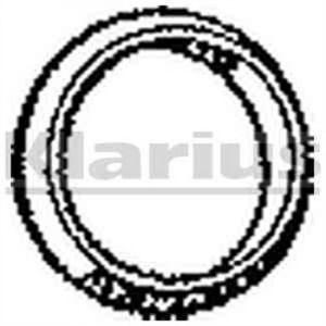 klarius joint chappement 410637 comparer avec. Black Bedroom Furniture Sets. Home Design Ideas