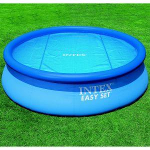 Intex Bâche à bulles diam. 2,44m pour piscine ronde