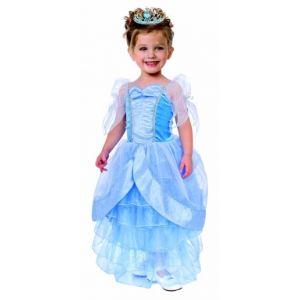 Déguisement princesse bleu pour fille (3 à 10 ans)