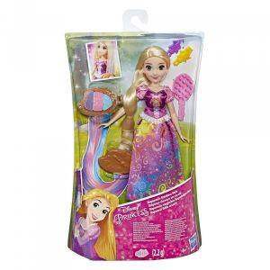 Hasbro Poupée Raiponce cheveux arc-en-ciel