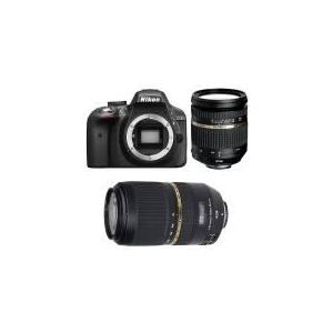 Nikon D3300 (avec 2 objectifs Tamron 17-50mm et Tamron 70-300mm)