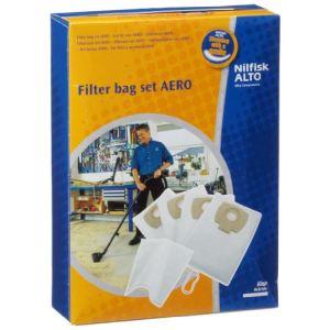 Nilfisk 302002404 - 4 sacs filtrants en polyester pour aspirateurs