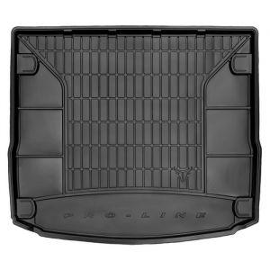 DBS Tapis de Coffre sur Mesure Caoutchouc 3D pour Ford Focus SW des 03/2011 - Matière : caoutchouc TPE - Zones de rangement latérales - Nettoyage facile - Installation rapide