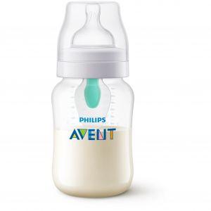 Philips Biberon 260 ml Anti-colic avec valve AirFree transparent