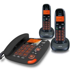 Switel DCT 50073 Duo Vita - Téléphone combo avec répondeur