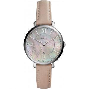 Fossil ES4151 - Montre pour femme avec un bracelet en cuir