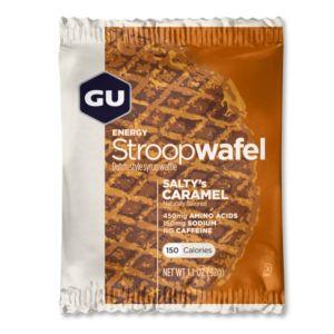 Gu Energy Acides aminés Gu Stroopwafel Saltys Caramel Box x16