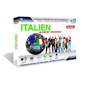 Coffret Berltiz Italien - Tous niveaux [Windows]