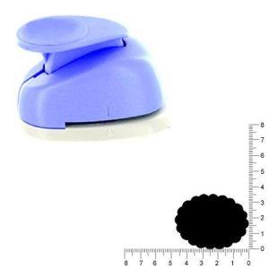 Artémio Géante perforatrice - Ovale dentelle - Env 4.7 cm