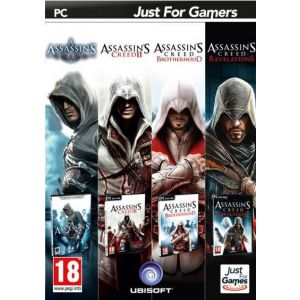 Pack 4 Jeux Assassin's Creed [PC]