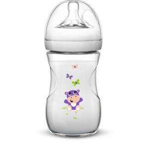 Philips Avent Biberon Natural Hippopotame 260 ml
