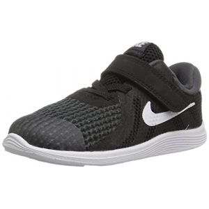 Nike Kleinkinder Sneaker Revolution 4, Sneakers Basses Mixte Enfant, Noir (Black/White-Anthr. 006), 22 EU