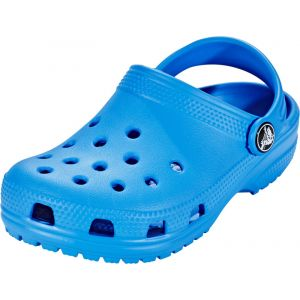 Crocs Classic Clog Kids, Sabots Mixte Enfant, Bleu (Ocean), 33-34 EU