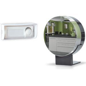 Extel Sonnette sans fil LOONI effet miroir 150m de portée -