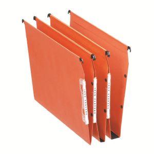 Esselte Boîte de 25 dossiers suspendus pour armoire Dual en kraft (fond : 15 mm)